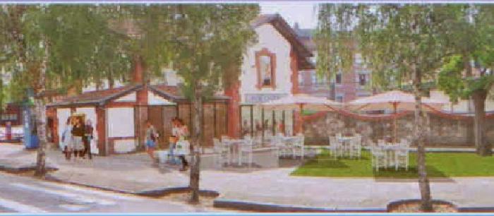 Andrade propone abrir un Centro de Ocio en la Antigua Estación de Neguri